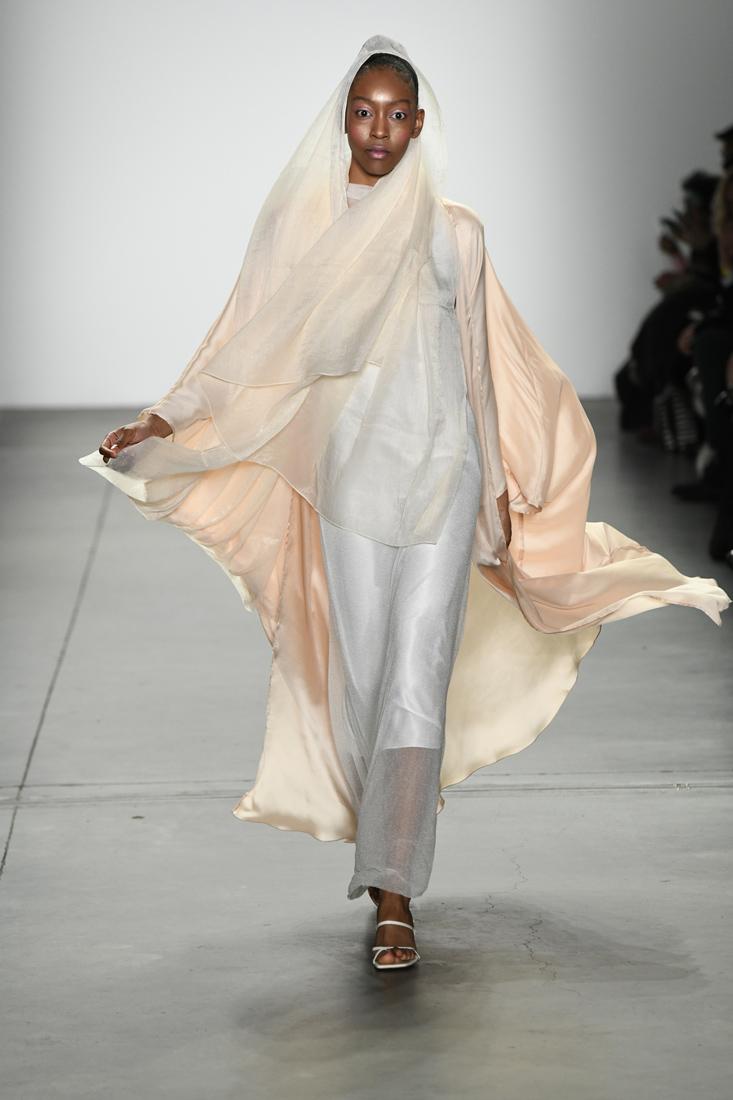 Harlienz & Ghada AlbuainainFall/Winter 2019 at New York Fashion Week