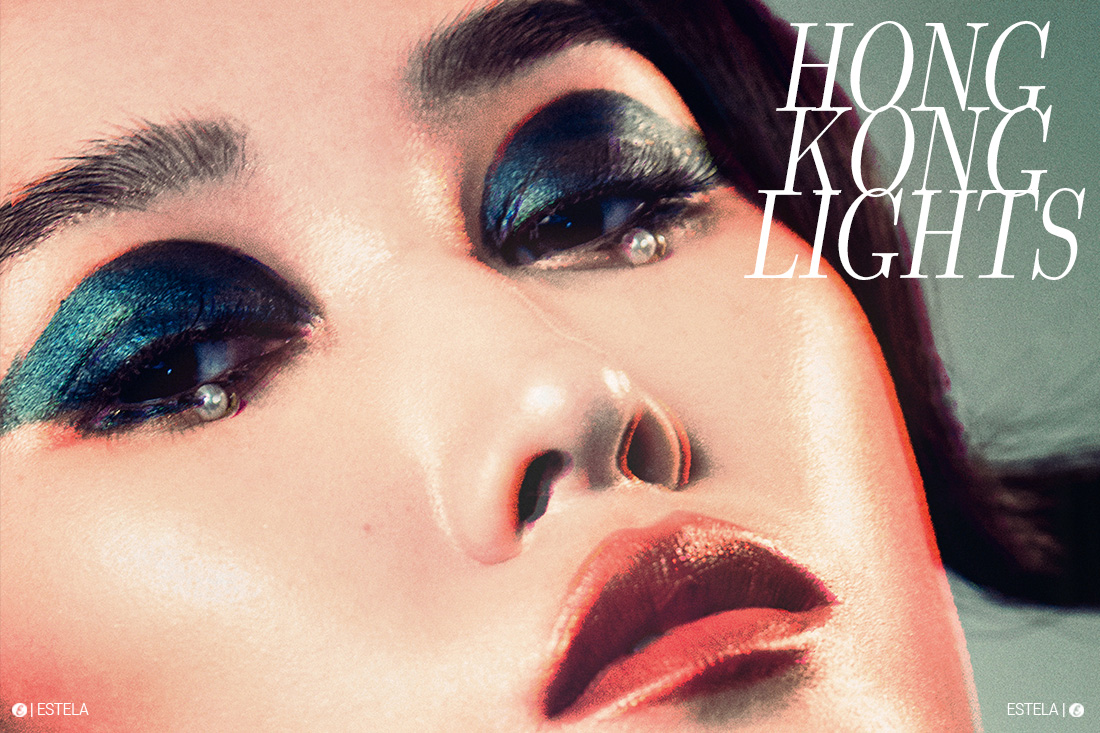 Estela Beauty Edit: Hong Kong Lights shot by Aleksandr Pershiin