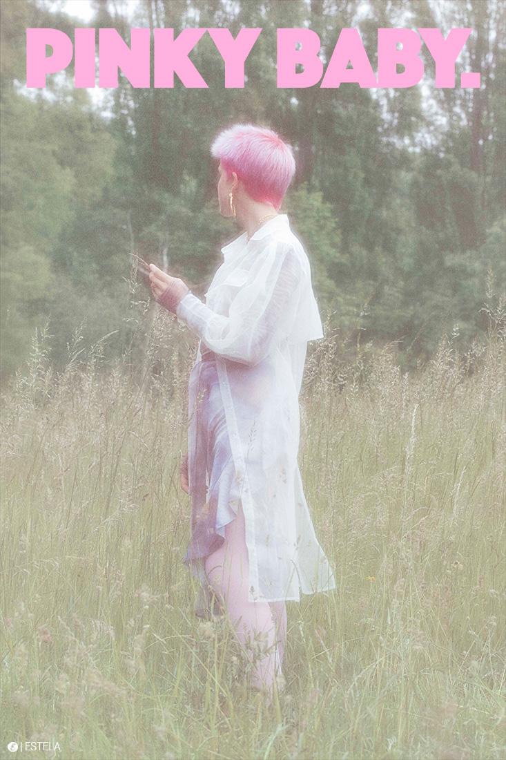Estela Fashion Edit: Pinky Baby shot by Blandine Garchery